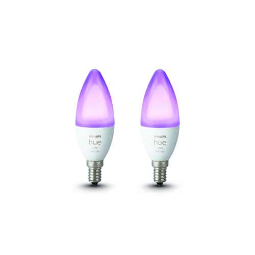 Philips Hue White & Color Ambiance E14 Doppelpack