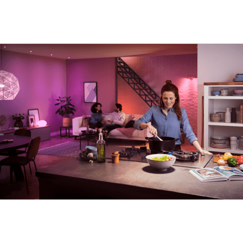 Philips Hue White & Col. Amb. E14 Doppelpack 2x470lm Weiß